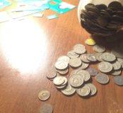 Монеты СССР 187шт