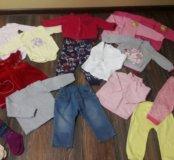 Пакет одежды для девачки