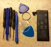 Аккумулятор iPhone 4 и набор специальных отверток
