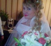 Свадебные мэйк+прическа