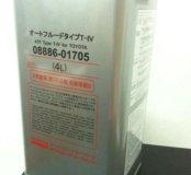 Масло АКПП Fanfaro ATF Toyota Type-4 4л жесть