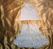 Летний топ и юбка