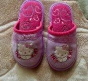 Тапочки детские Hello Kitty
