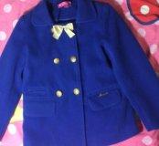 Пальто для девочки 5-7лет ( весна, осень)