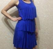 Платье трикотажное легкое Новое!