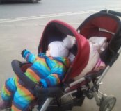 Двойная коляска jane twin two