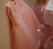 Пышное платье.  Для первого дня рождения