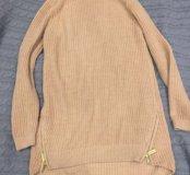Удлинённый свитер Stradivarius