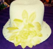 Шляпа из соломки на 55-56-57 размер