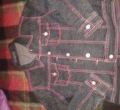 Пиджак и джинсы на подростка