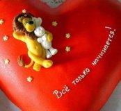 Фигурки на торт признание в любви, ко дню святого