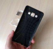 Чехол противоудар. На Самсунг Galaxy A5 цв.черный