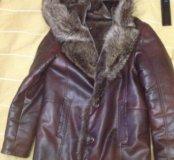 Куртка зима, натур мех. Обмен или продажа