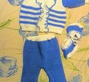 Вязанный костюмчик