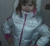 Зимняя куртка Gulliver 116( 4-6 лет)
