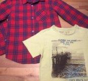 Рубашка, футболка Zara