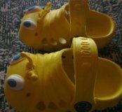 Резиновые тапочки