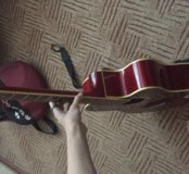 Гитара, кападастр,  чехол.