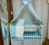 Детская кроватка 🐰🐻🐶