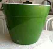 Большой горшок для цветов 12 литров