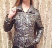 Куртка демисезонная металлик