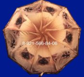 Зонт с котиками, автоматический.