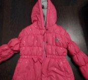 Утепленная курточка