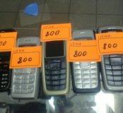 телефоны   Nokia 2600,1112,1600