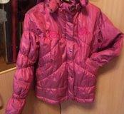 Куртка для девочки  на 128см