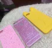 Чехлы на iphone5 комплект