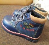 Детские ортопедические ботинки. Отличного качества