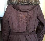 Куртка зимняя мембранная горнолыжная для девочки