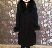 Зимнее Пальто натуральное в отличном состоянии