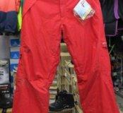 Красные горнолыжные штаны 52-54(xxl )