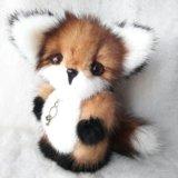 Авторская мягкая игрушка лисёнок