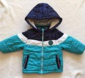 Куртка (жилетка) на раннюю весну размер 74
