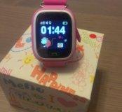 Детские GPS часы - телефон Q90