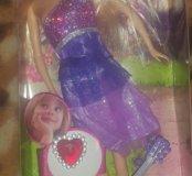 Кукла 100% новая, коробка от нее есть, но порвана.