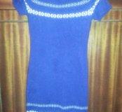 Платье вязаное.
