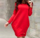Платье новое красное ,на 48-50 й размер