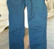 Штаны женские синие в отличном состоянии 46р