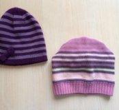 Демисезонные шапки для девочки (осень/весна)