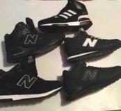 Кроссовки New Balance 574,997,696 и Adidas zx 750