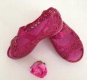 Туфли CROCS для девочки (размер C6)