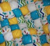 Одеяло бом-бон (зифирное) и подушки