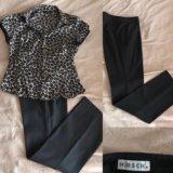 Блузка, брюки