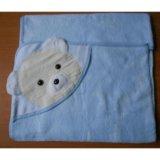 Новое детское полотенце с уголком