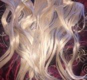 Волоси блонд