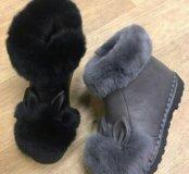 Ботинки новые черные