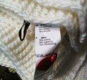 Комплект варежки и шарф